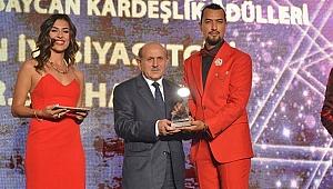 3. Türkiye Azerbaycan Kardeşlik Ödül Gecesinde ödüller Sahiplerini Buldu
