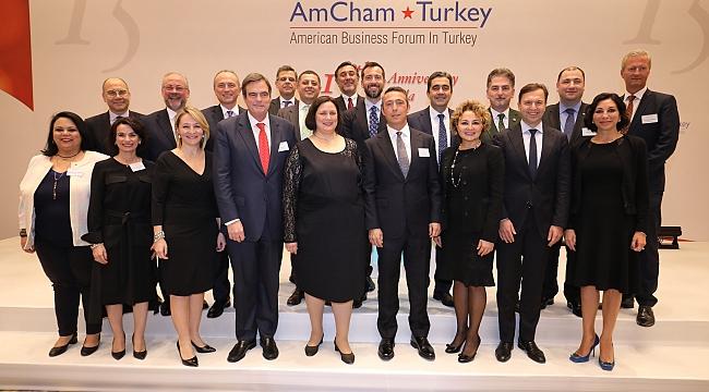 AmCham ödülleri, Amerikan Şirketler Derneği 15. kuruluş yıl dönümünde sahiplerini buldu