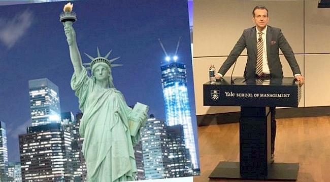 Yale'de konuşan Ekonomist Murat Sağman Amerikalı yatırımcıları davet etti