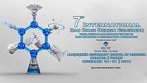 7. Uluslararası BAU İlaç Tasarım Kongresi Bugün Başlıyor