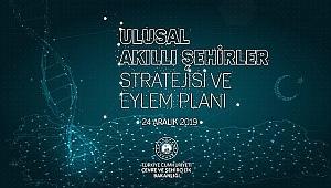 Bakan Kurum,'Türkiye'nin ilk Ulusal Akıllı Şehirler Stratejisi ve Eylem Planı'