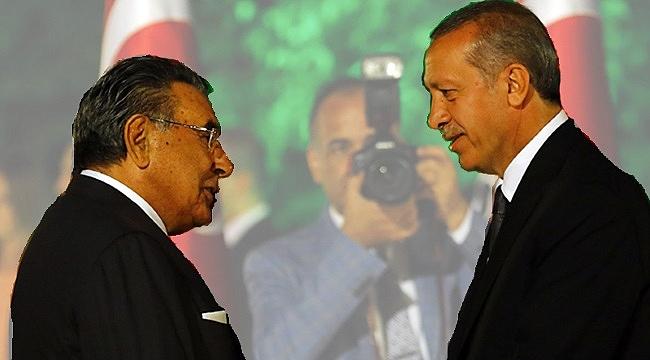 Cumhurbaşkanı Erdoğan'dan, Aydın Doğan'a teşekkür