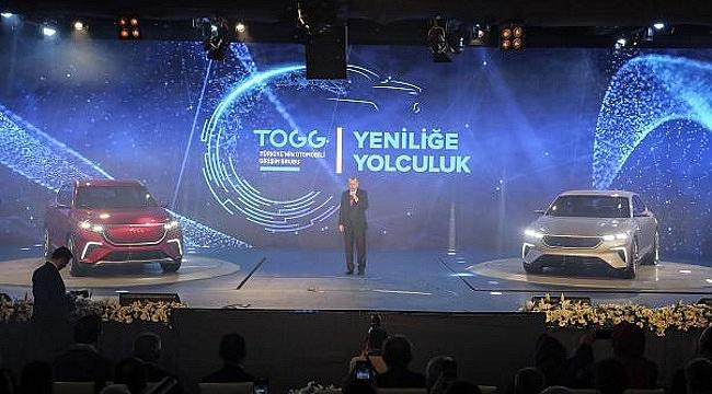 Cumhurbaşkanı Erdoğan'dan yerli otomobili ilk test sürüşü