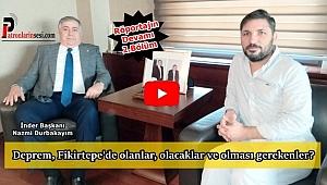 İnder Başkanı Durbakayım Röportajı 'Fikirtepe, Deprem, Konut Satışları ve Beklentiler' Bölüm-2