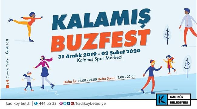 Kadıköy Belediyesi, 2020'ye Kalamış Parkı'nda Buzfest ile giriyor
