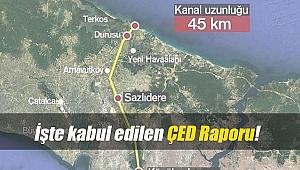 Kanal İstanbul ÇED raporu kabul edilerek askıya çıktı!