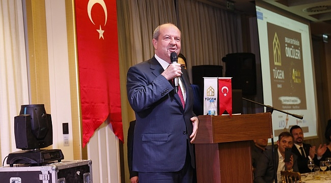 KKTC Başbakanı Tatar ''Doğalgaz ve Petrol arama çalışmaları sayesinde herkes peşimizde''