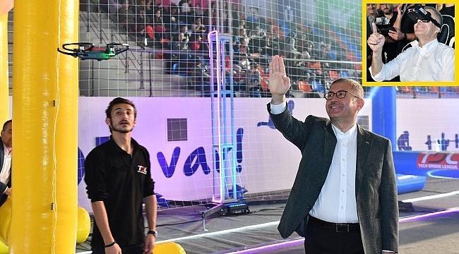 Üsküdar'da Drone ve Robotik Festival coşkusu