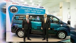 Elektrikli Ford Custom PHEV'in yeni test sürüşleri Ankara'da yapılacak!