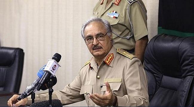 Hafter Libya'da ateşkes çağrısını kabul etti