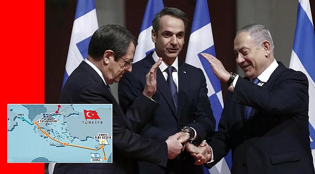 İmzalar atıldı, Doğu Akdeniz'de sular ısınmaya başladı. Türkiye'den Tepki!