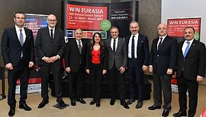 Dünya ticaretine yön verenler WIN EURASIA'da buluşuyor