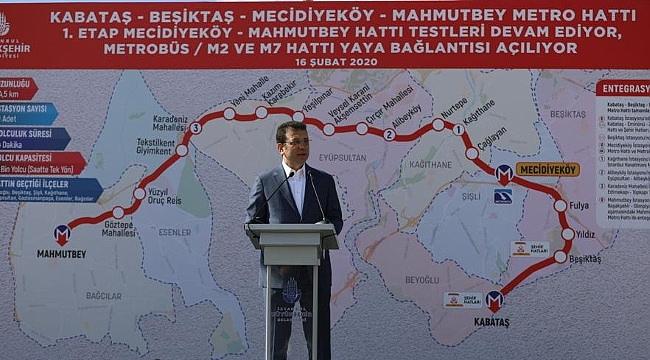 Mecidiyeköy-Mahmutbey metrosu 19 Mayıs'ta açılıyor!