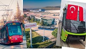Türkiye'den dünyaya ilk tramvay ihracatı Durmazlar'a Nasip Oldu!