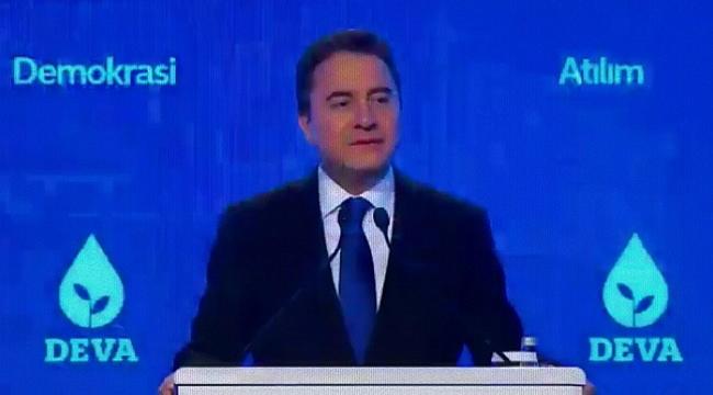 Ali Babacan'nın kurduğu DEVA Partisi'nin tanıtım toplantısı yapıldı.