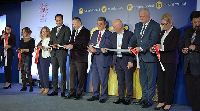 Solar İstanbul 2020 Fuarı ve Konferansı başladı