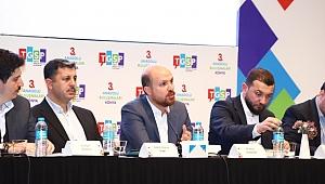 TGSP'nin organize ettiği Anadolu Buluşmaları'nın 3.'sü Bilal Erdoğan'nın da katılımıyla gerçekleşti
