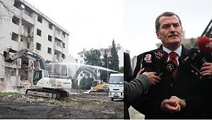 Zeytinburnu Millet Bahçesi için yıkım başladı