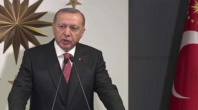 Cumhurbaşkanı Erdoğan, Milli Dayanışma Kampanyası başlattı ''Biz bize yeteriz!''