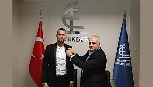 Atakan Taşur ''Ticaret & Ekonomi Kulübü'' İstanbul İl Başkanı Oldu