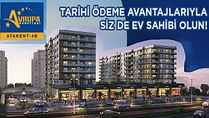Avrupa Konutları Atakent 4 projesinde satışlar 0,64 oran, 180 ay vade ile başladı