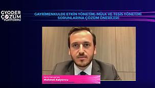 'GYODER Çözüm Platformu'nda 'Mülk ve Tesis Yönetimi' Masaya Yatırıldı