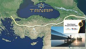 """TANAP'a, Proje Yönetim Dünyasının Oskar'ı olan Uluslararası """"Yılın Projesi"""" Ödülü!"""