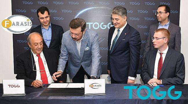 TOGG ve Farasis'ten batarya için stratejik ortaklık