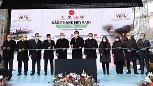 Bakan Kurum'dan Kağıthane Meydanı Açılışında Kanal İstanbul ve Fikirtepe Açıklaması