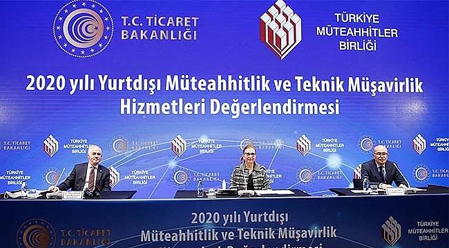 2,6 milyar Dolarlık Türk Müteahhitlik sektörü 128 ülkede faal