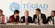 Kılıçdaroğlu, Tügiad yönetimi ile buluştu