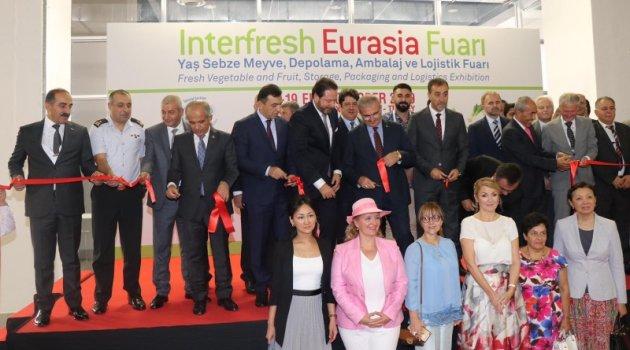 Yaş Meyve Sebze Sektör Fuarı Interfresh Eurasia kapılarını açtı