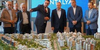 uluslararası ziyaretçi ağırlayan Sur Yapı Antalya teslime hazırlanıyor